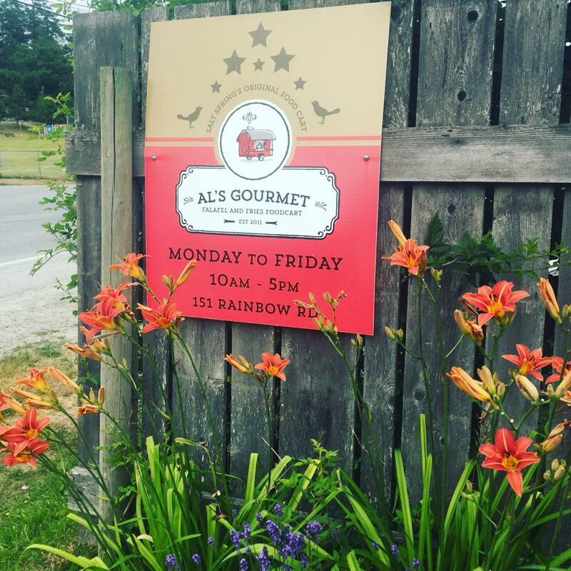 Al's Gourmet Falafel and Fries, Salt Spring Island, BC Restaurant