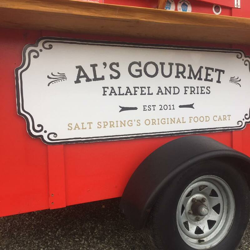 Al's Gourmet Falafel and Fries, Salt Spring Island, BC Restaurant, Food Cart